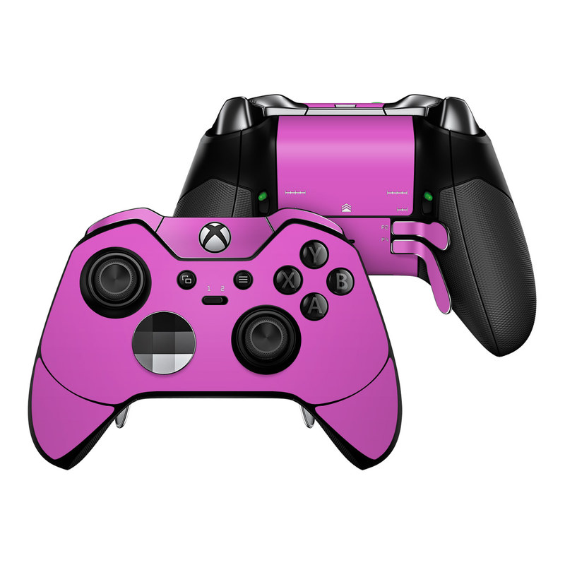 Solid State Vibrant Pink Xbox One Elite Controller Skin