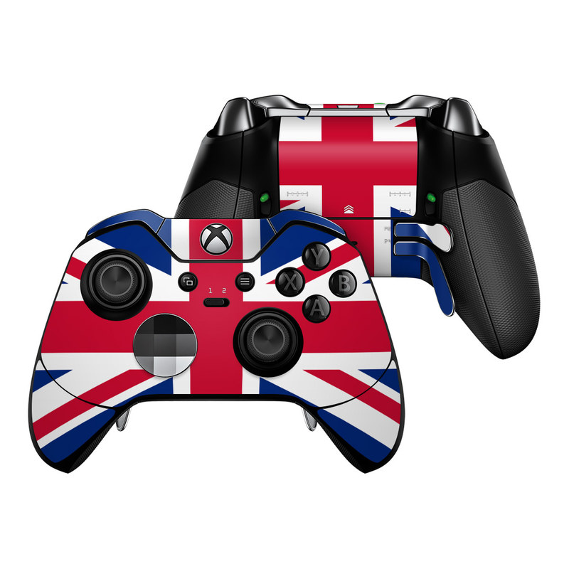 Union Jack Xbox One Elite Controller Skin