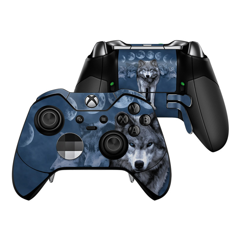 Wolf Cycle Xbox One Elite Controller Skin
