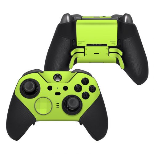 Solid State Lime Xbox Elite Controller Series 2 Skin