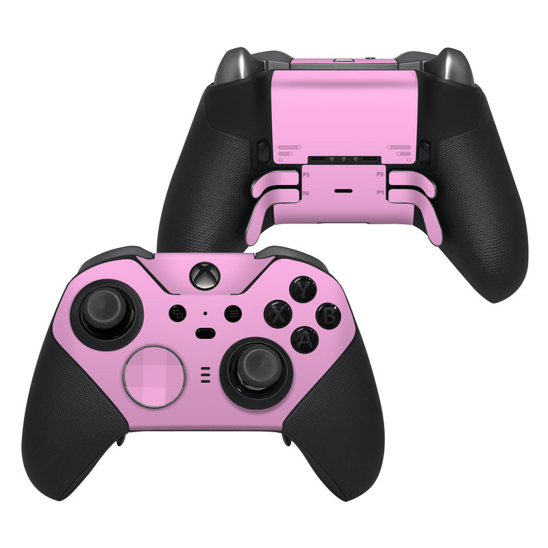 Xbox Elite Controller Series 2 Skin design of Pink, Violet, Purple, Red, Magenta, Lilac, Sky, Material property, Peach with pink colors