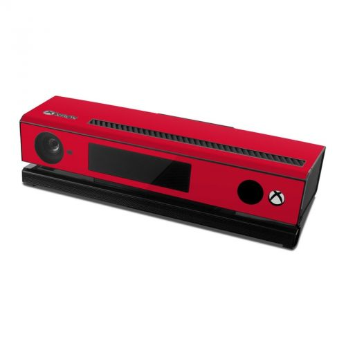 Solid State Red Xbox One Kinect Skin