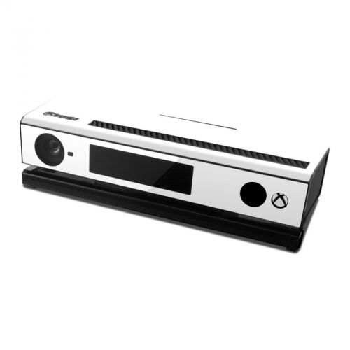 Solid State White Xbox One Kinect Skin