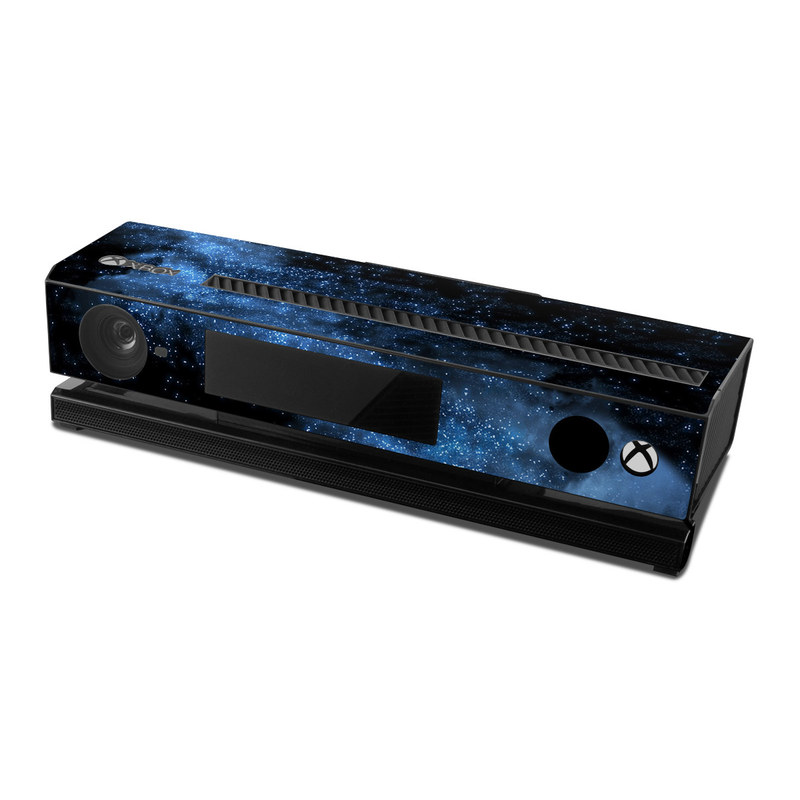Xbox One Kinect Skin design of Sky, Atmosphere, Black, Blue, Outer space, Atmospheric phenomenon, Astronomical object, Darkness, Universe, Space with black, blue colors
