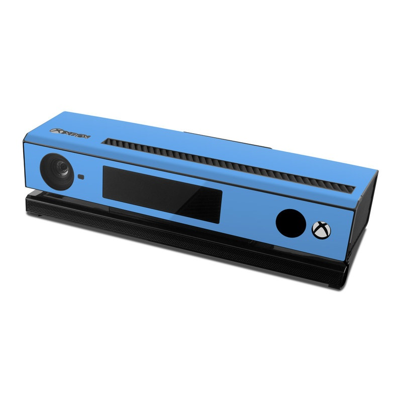 Solid State Blue Xbox One Kinect Skin