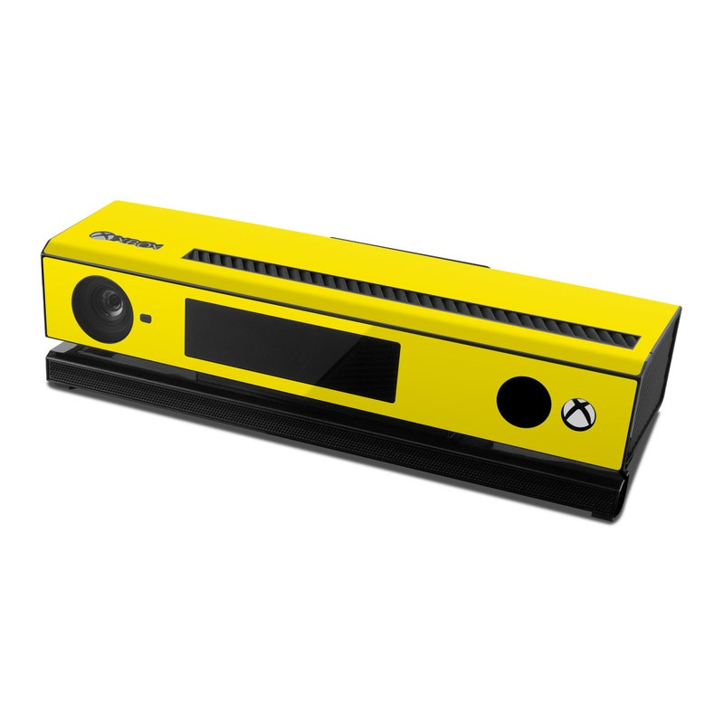 Solid State Yellow Xbox One Kinect Skin