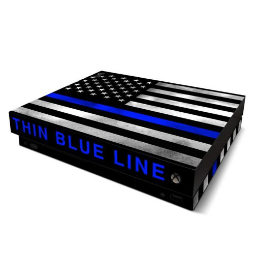 Thin Blue Line Xbox One X Skin