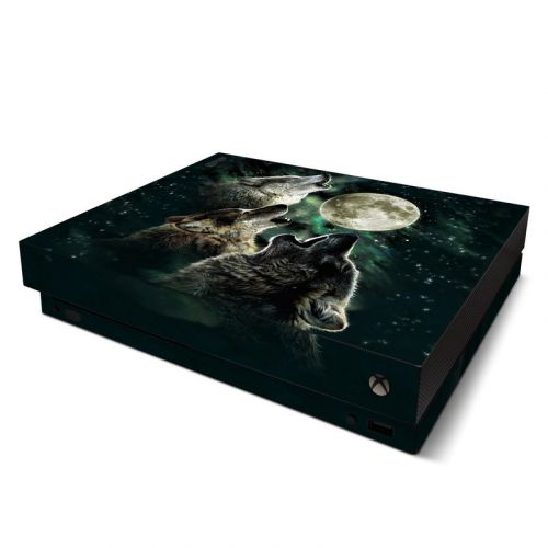 Three Wolf Moon Xbox One X Skin