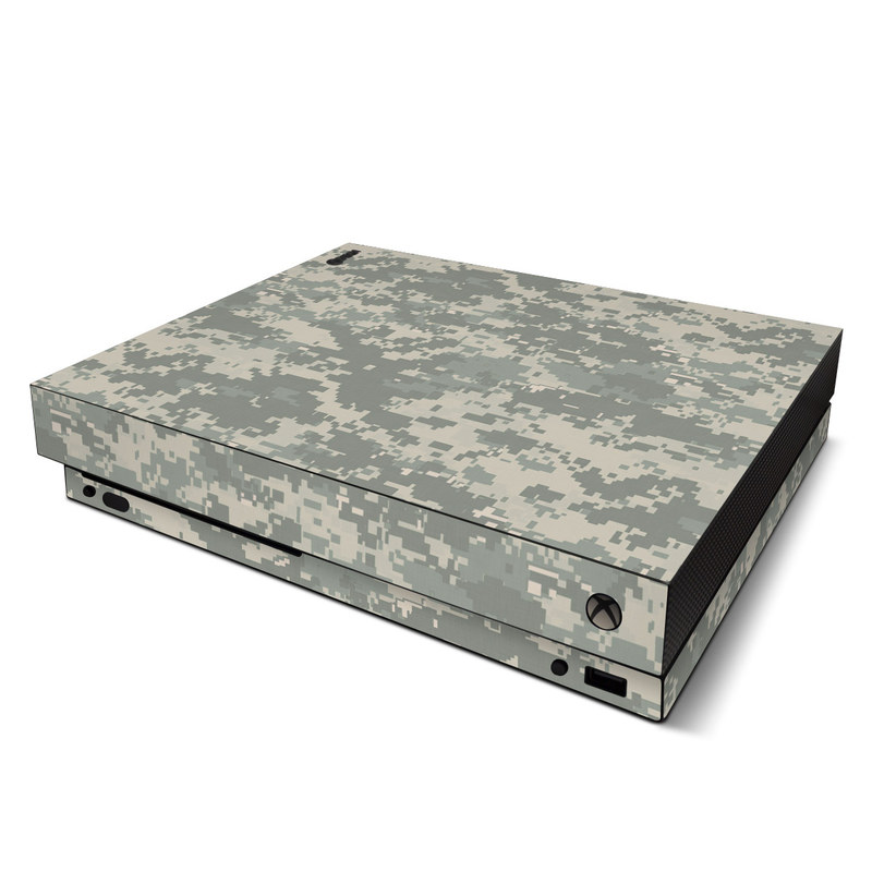 Xbox One X Skin design of Military camouflage, Green, Pattern, Uniform, Camouflage, Design, Wallpaper with gray, green colors