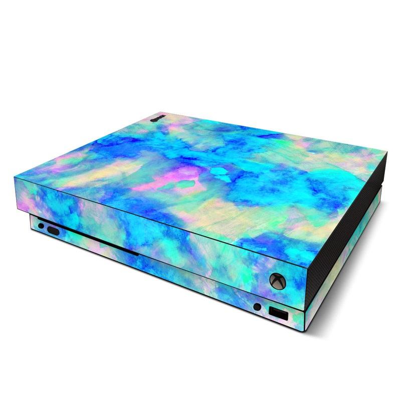 Electrify Ice Blue Xbox One X Skin