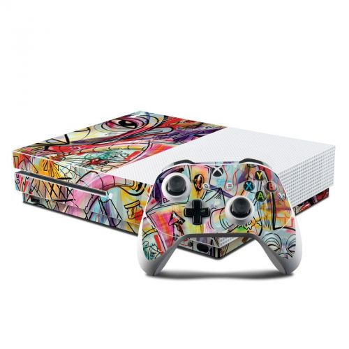 Battery Acid Meltdown Xbox One S Skin