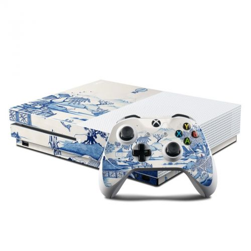 Blue Willow Xbox One S Skin