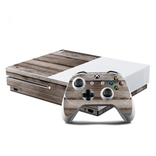 Barn Wood Xbox One S Skin