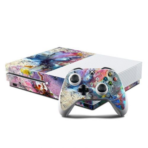 Cosmic Flower Xbox One S Skin