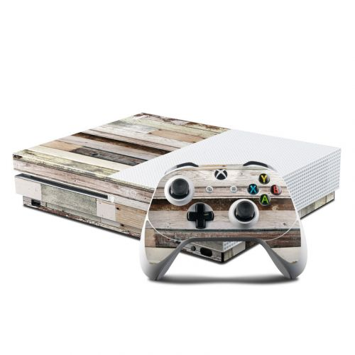 Eclectic Wood Xbox One S Skin