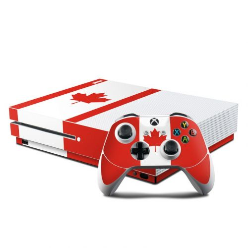 Canadian Flag Xbox One S Skin