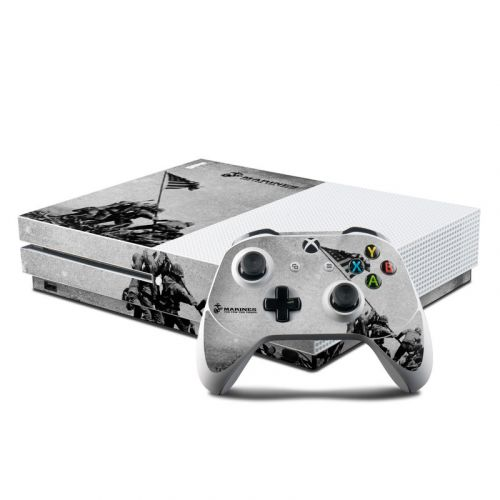 Flag Raise Xbox One S Skin