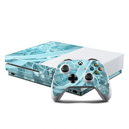 Flores Agua Xbox One S Skin
