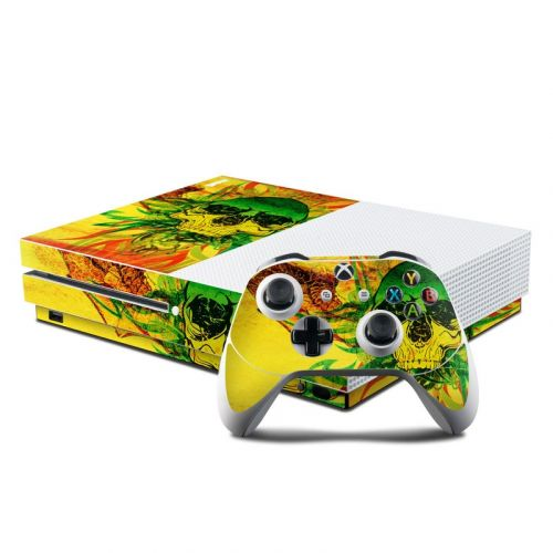 Hot Tribal Skull Xbox One S Skin