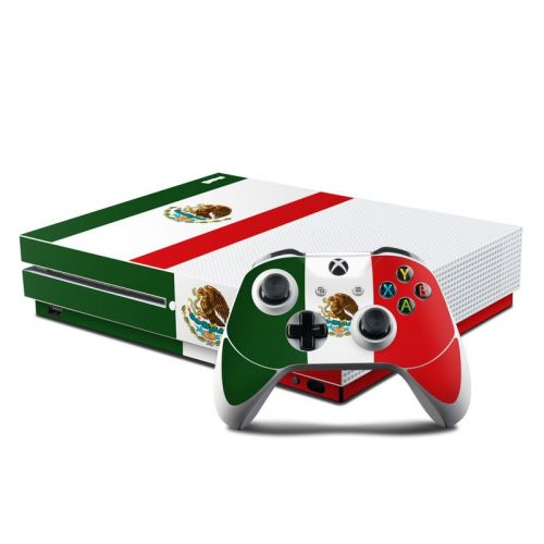 Mexican Flag Xbox One S Skin