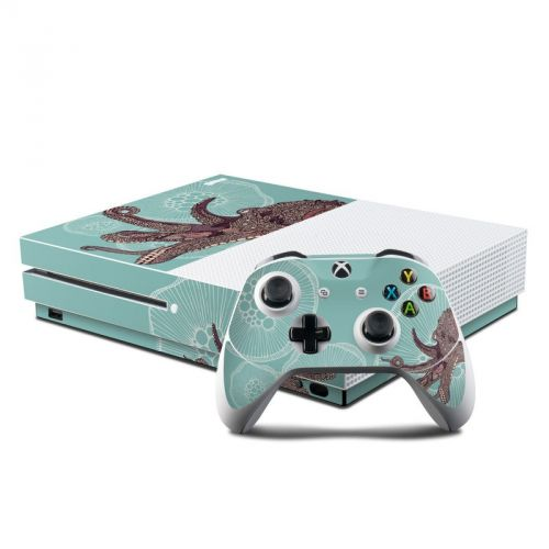 Octopus Bloom Xbox One S Skin