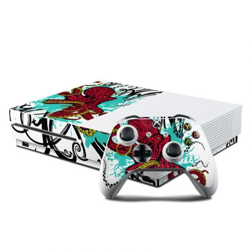 Octopus Xbox One S Skin