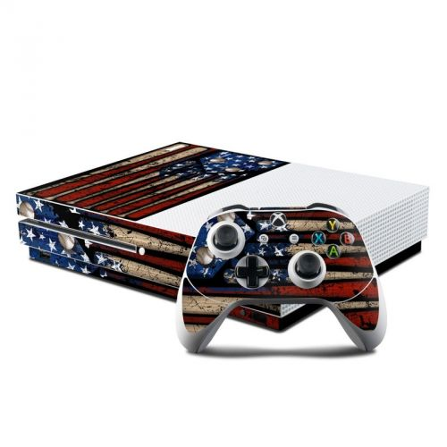 Old Glory Xbox One S Skin