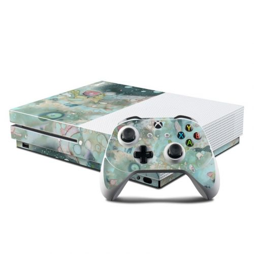 Organic In Blue Xbox One S Skin
