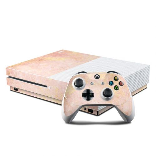 Rose Gold Marble Xbox One S Skin
