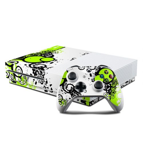 Simply Green Xbox One S Skin
