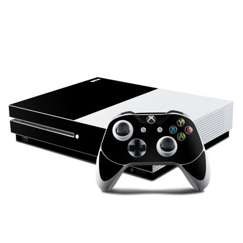 Solid State Black Xbox One S Skin