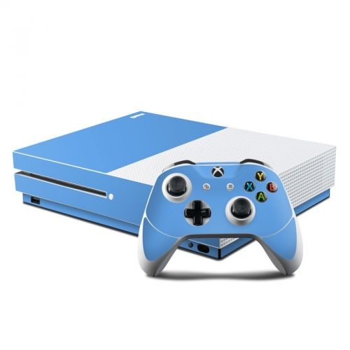 Solid State Blue Xbox One S Skin