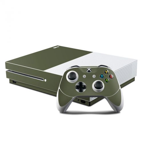 Solid State Olive Drab Xbox One S Skin