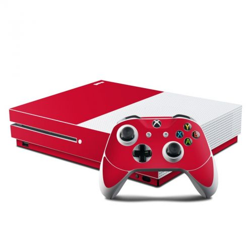 Solid State Red Xbox One S Skin