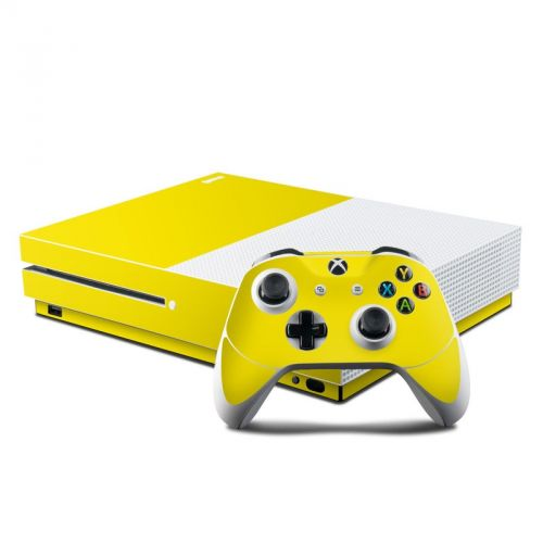 Solid State Yellow Xbox One S Skin