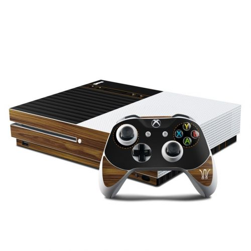 Wooden Gaming System Xbox One S Skin
