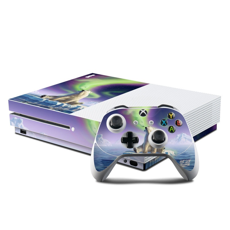Arctic Kiss Xbox One S Skin
