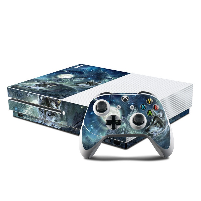 Bark At The Moon Xbox One S Skin