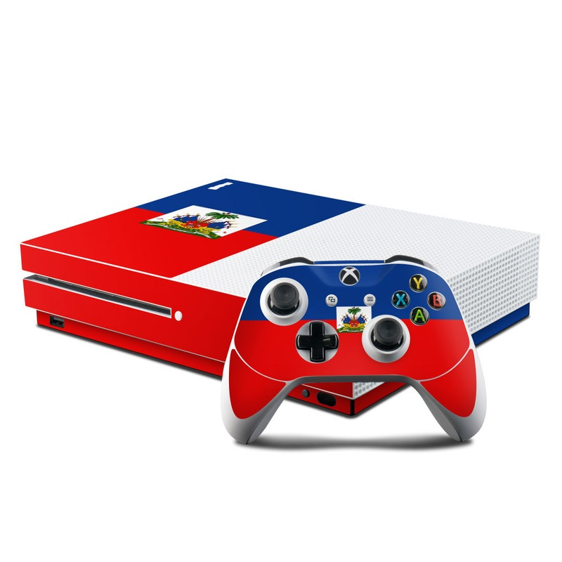 Haiti Flag Xbox One S Skin
