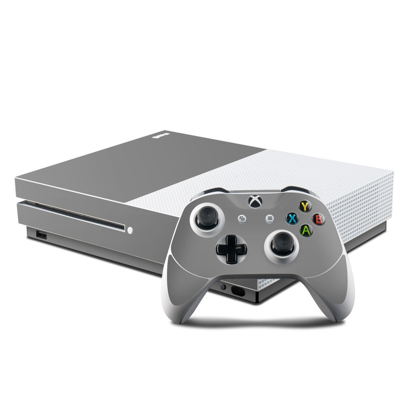 Solid State Grey Xbox One S Skin