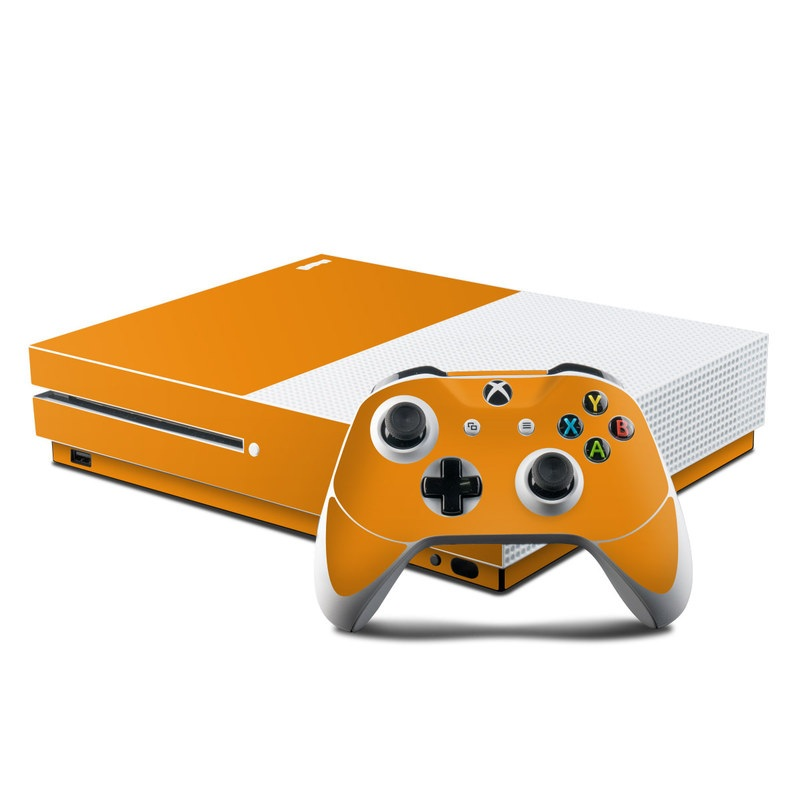 Solid State Orange Xbox One S Skin