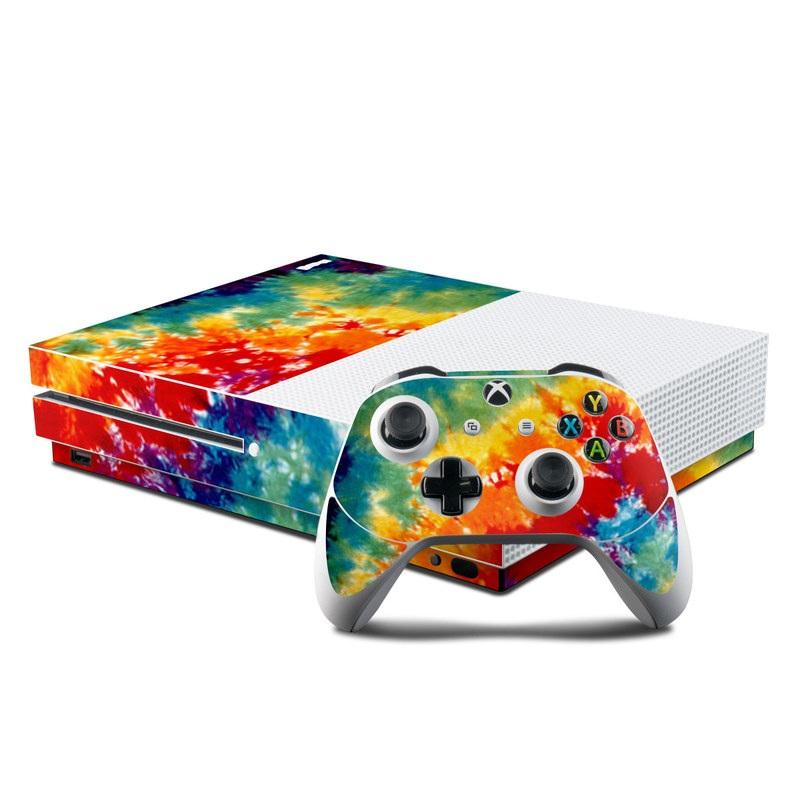 Tie Dyed Xbox One S Skin