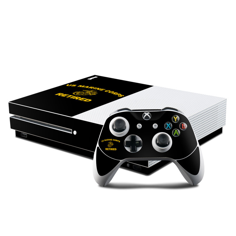 USMC Retired Xbox One S Skin