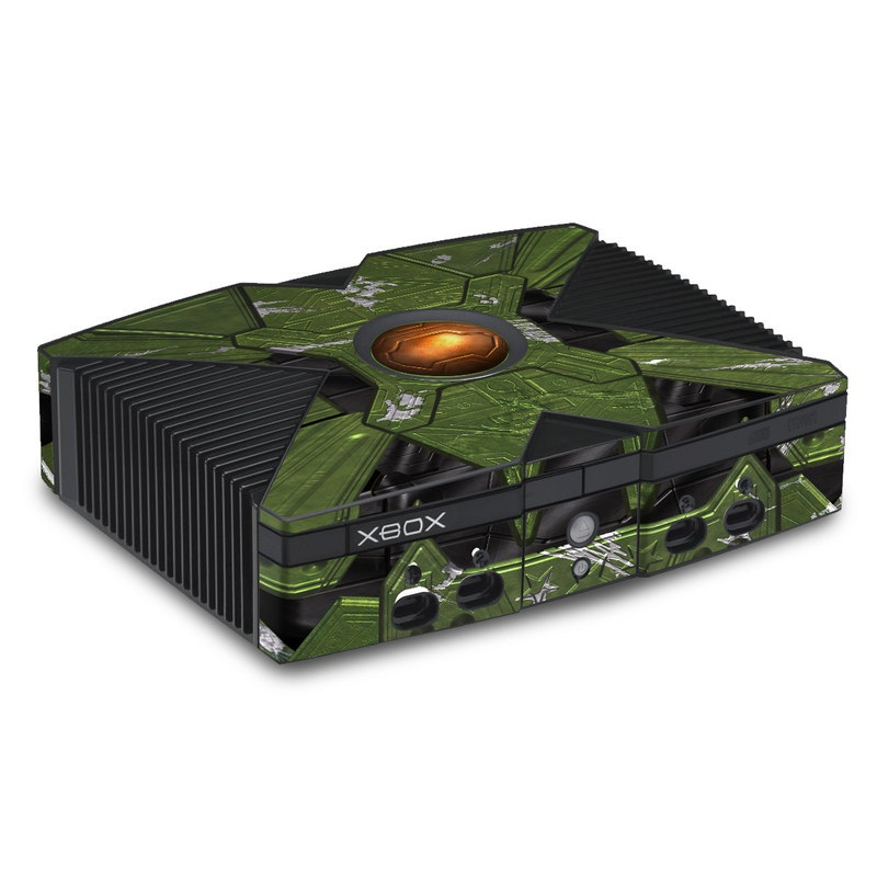 Old Xbox Skin design of Green, Fictional character, Games, Fiction, Pc game, Illustration, Strategy video game, Digital compositing, Art, Screenshot with green, yellow, orange, black colors