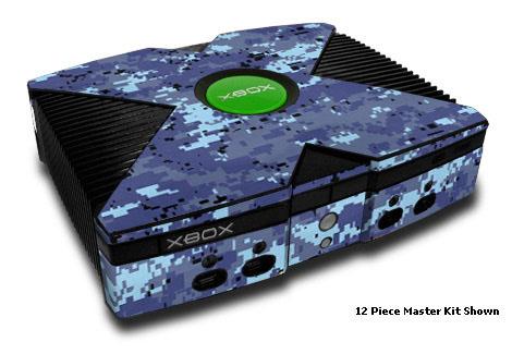 Digital Sky Camo Xbox Skin