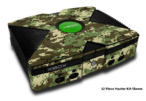 Digital Woodland Camo Xbox Skin