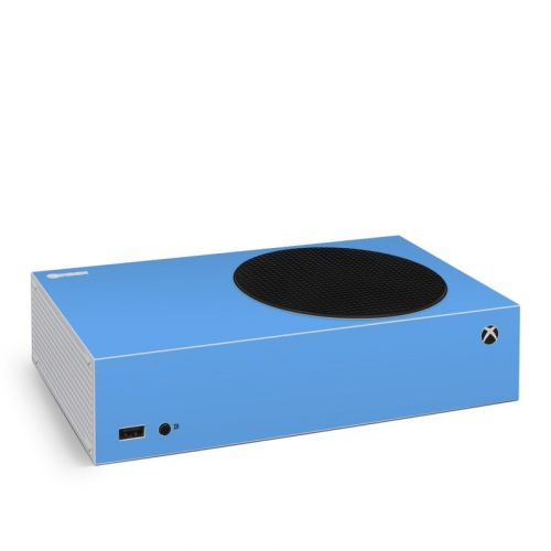 Solid State Blue Xbox Series S Skin