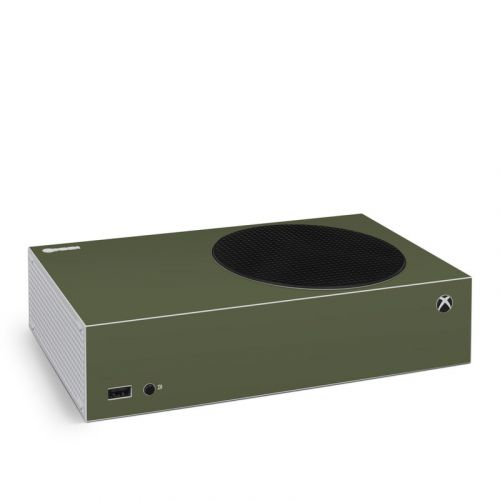 Solid State Olive Drab Xbox Series S Skin