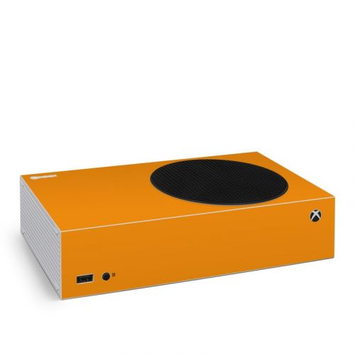 Solid State Orange Xbox Series S Skin