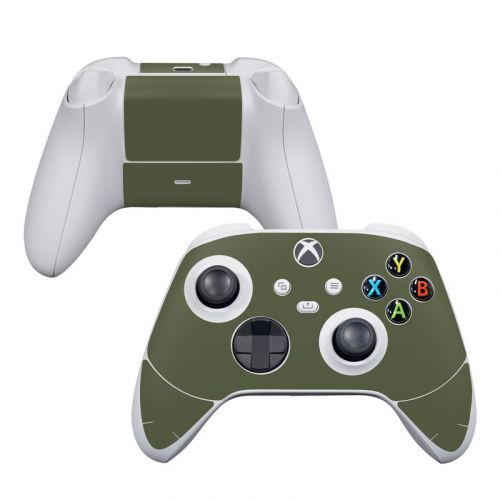 Solid State Olive Drab Xbox Series S Controller Skin